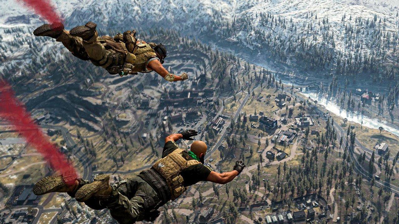 прыжок с самолета